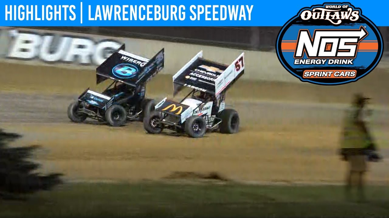 Lawrenceburg Speedway 2019 Schedule World of Outlaws NOS Energy Drink Sprint Cars Lawrenceburg