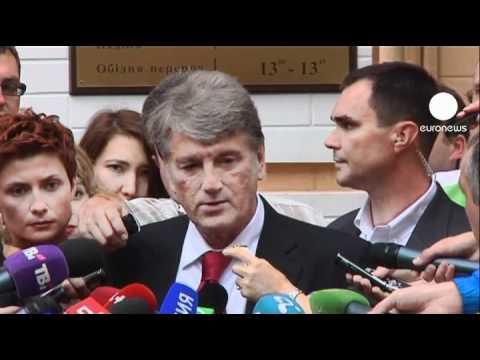 Former 'Orange' allies face off at Tymoshenko trial