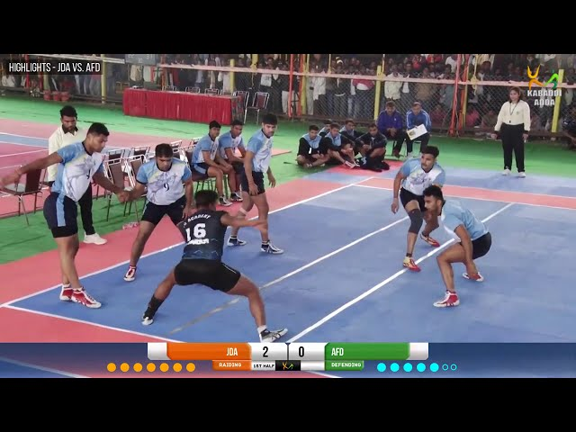 Naveen Kumar's 10 raid points takes Air Force to Quater - Finals
