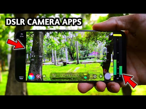 PHONE-ல DSLR CAMERA மாதிரி PHOTOS எடுக்கலாம் | Top 4 Professional DSLR Camera Apps For Android