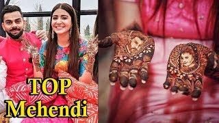 Top 8 Bollywood Brides Flaunting Their Mehendi Designs | bollywood actress mehendi