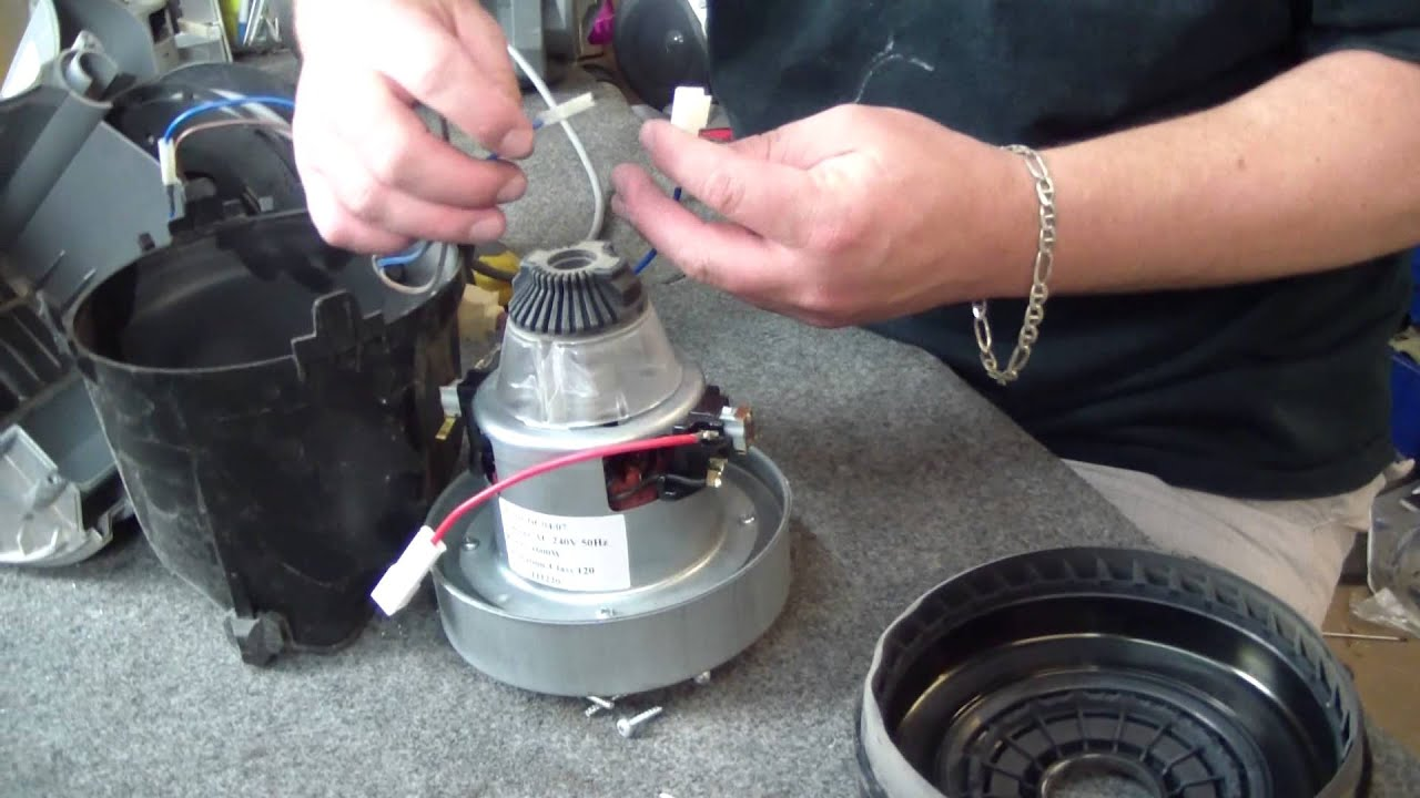 How To Change A Dyson Dc08 Vacuum Cleaner Motor In Under