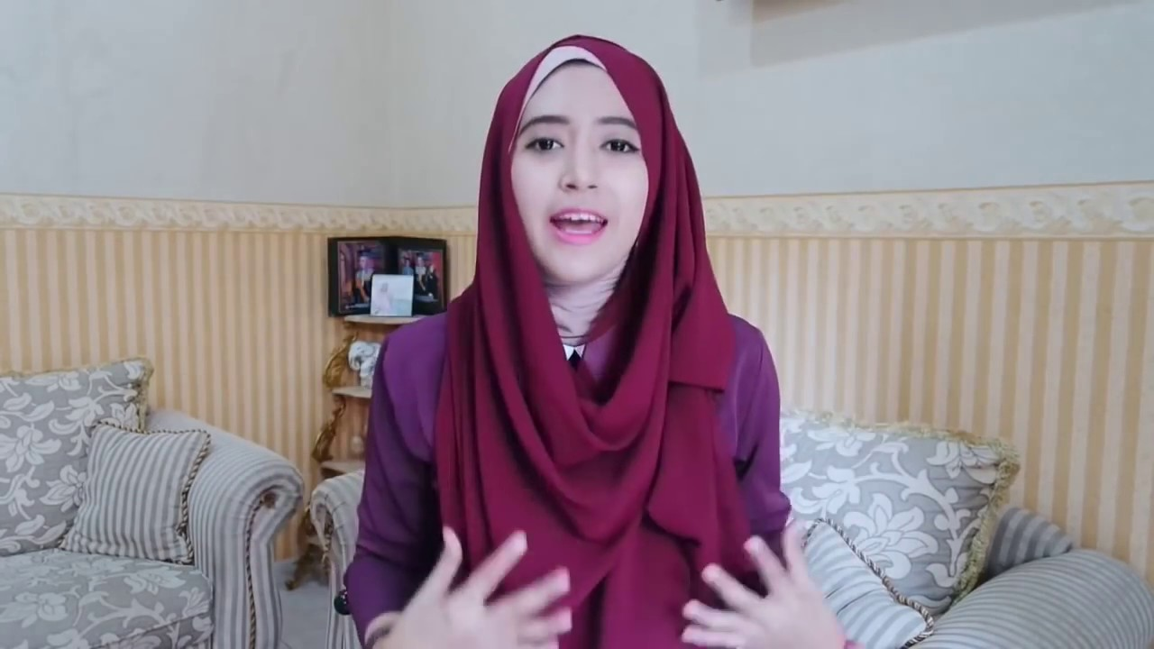 Tutorial Hijab Simple Natasha Farani YouTube