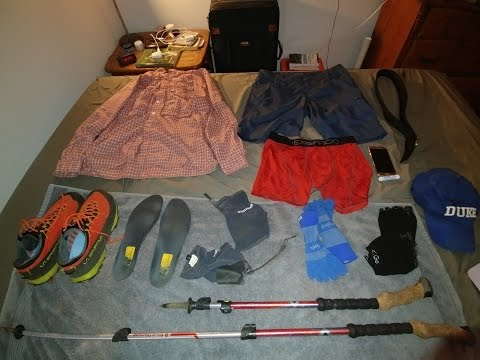 My Summer Day Hiking Gear