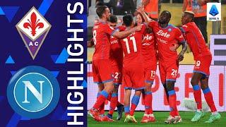 Fiorentina 1 2 Napoli Napoli make it seven wins in a row Serie A 2021 22