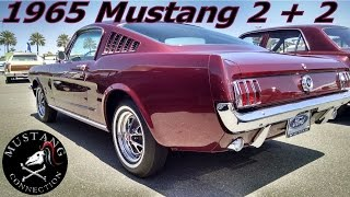 $50,000 1965 Mustang Fastback 2+2@ Auctions America Santa Monica 2015