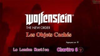 Wolfenstein The New Order: Les Objets Cachés [Chapitre 6] - Trésors, Fragments De Codes et Lettres
