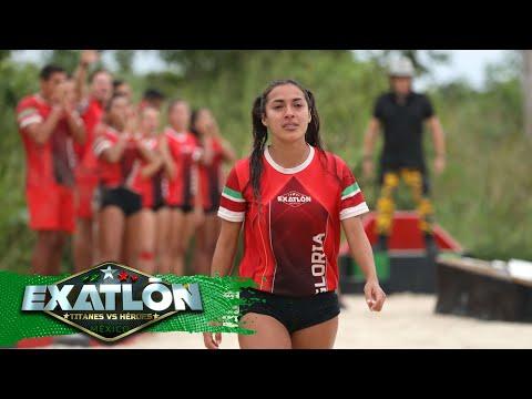 Gloria Murillo es la onceava eliminada de Exatlón Titanes vs. Héroes.   Episodio 54   Exatlón México
