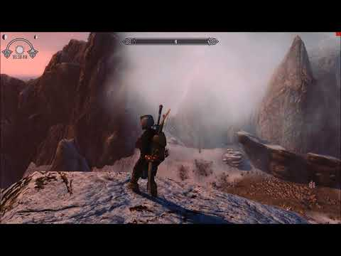 Skyrim SE Mods:Naturally ENB+ReShade Obsidian Weathers