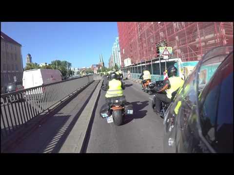 Berlin DEKRA Motorradtreffen 2017 -  Motorradkorso