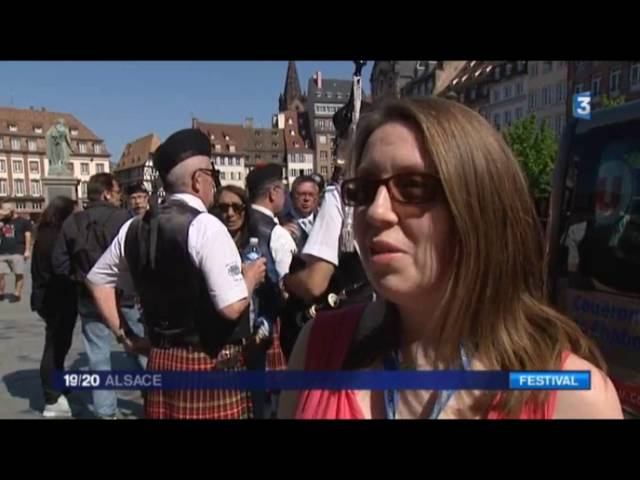 Euroceltes 2016 - Strasbourg - Concours Pipe Band