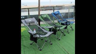 휴대용 여행용 접이식 피크닉 의자 침대 의자
