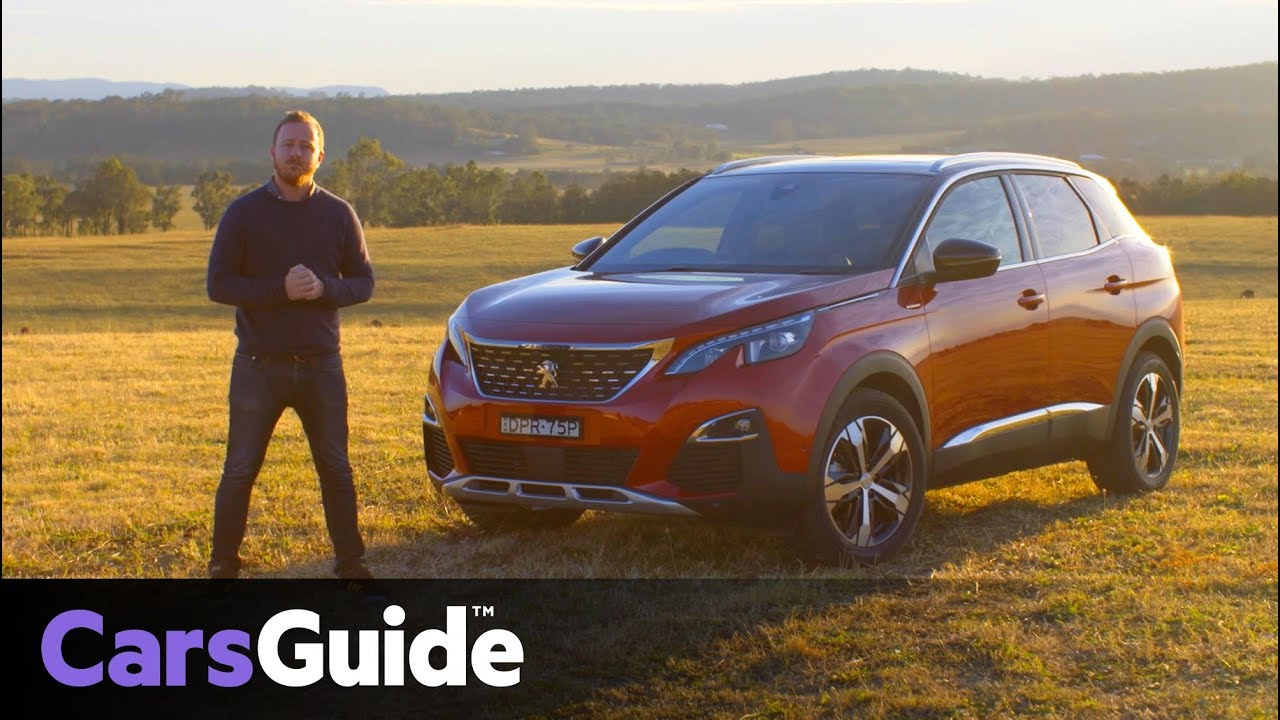 peugeot 3008 2017 review: first australian drive video - youtube