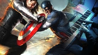 CAPTAIN AMERICA: THE WINTER SOLDIER - End Of The Line (Piano Solo) + Sheets Download
