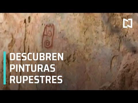 Sismo deja al descubierto pinturas rupestres en Oaxaca - Despierta