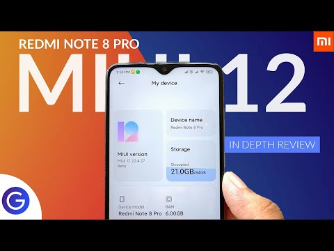 Redmi Note 8 Pro - MIUI 12 Beta Update   In-Depth Review   Explained all details ⚡⚡