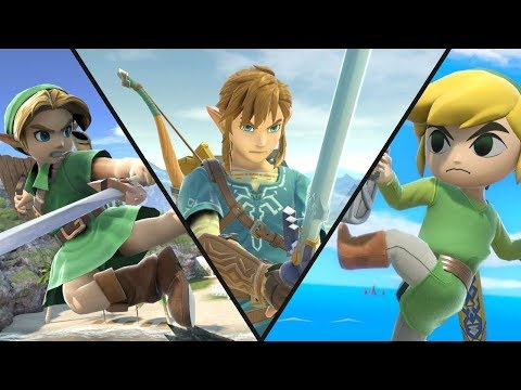 WHO IS THE BEST - LINK, YOUNG LINK OR TOON LINK? thumbnail