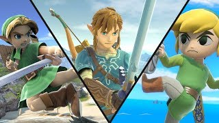 WHO IS THE BEST - LINK, YOUNG LINK OR TOON LINK?