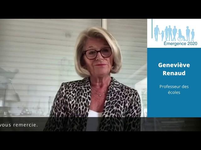 Elections municipales Saint-Georges de Didonne 2020 – Geneviève Renaud – Réalisation Emergence 2020.