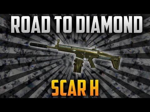 BO2: Road To Diamond (SCAR-H) - YouTube M1216 Black Ops 2