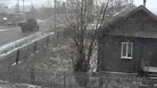 снег 13 мая 2013