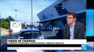 FRANCE - UberPOP to suspend service in  wake of protests