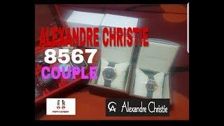 ALEXANDRE CHRISTIE 8567 COUPLE Unboxing & Review || PAPA KEMBAR