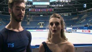 Papadakis et Cizeron survolent la glace à Bratislava