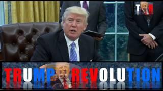 President Trump Signs Memorandum Ordering a Federal Hiring Freeze