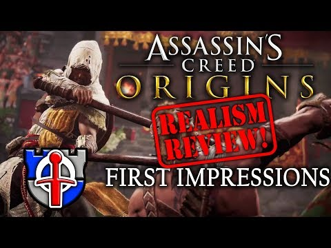 Assassin's Creed Origins REALISM REVIEW first impressions
