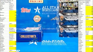 Allstarcasebreaks doing Personal Boxes and group breaks!