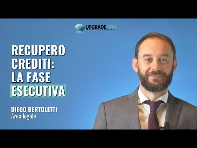 Recupero crediti: la fase esecutiva