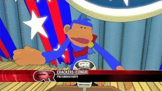 Hail to the Chimp Xbox 360 Trailer - Elect Crackers