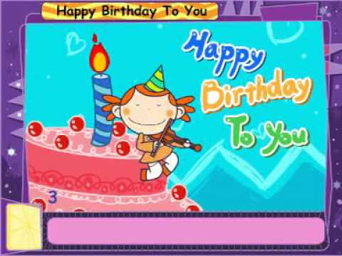 Chúc mừng sinh nhật - Happy birthday