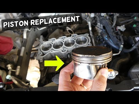 HOW TO REPLACE PISTON AND CONNECTING ROD ON HYUNDAI 1.8 2.0 NU ELANTRA TUCSON