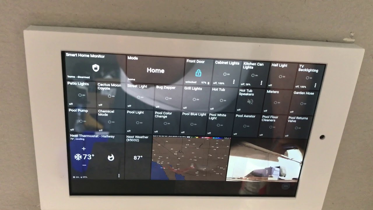 Integrating Ring doorbell with ActionTiles by Michael Wheelock