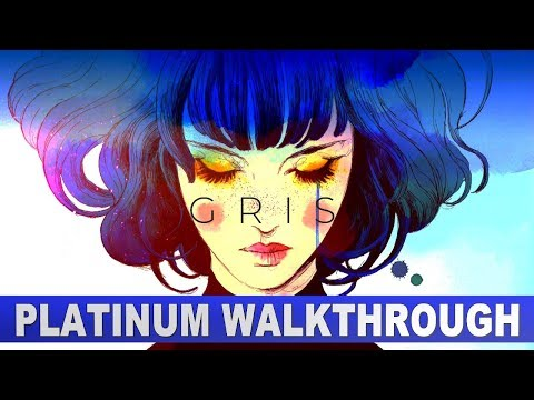Gris 100% Platinum Walkthrough | Trophy & Achievement Guide
