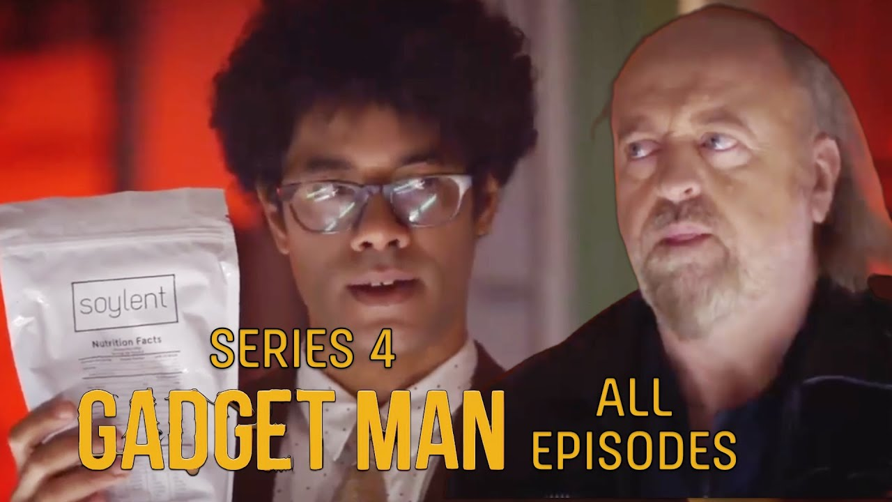 Richard Ayoade's Gadget Man MARATHON: ALL EPISODES - Series 4