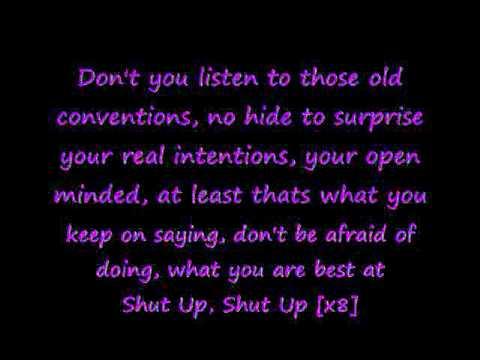 Shut Up - Sin With Sebastian (with lyrics) :)