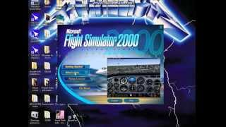 Flight Simulator 2000: Test on Windows 8.1