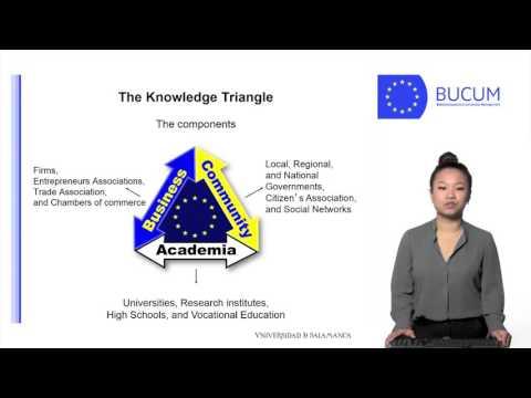 The Knowledge Triangle Santiago Lopez Wang Jingwei
