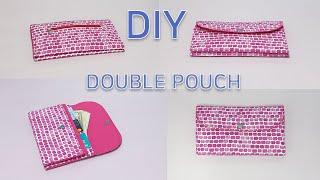 DIY Double wallet/ Double pouc…