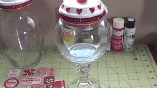 DIY Candy OR Cookie Jar! Super Easy and CUTE!