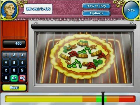 เกมส์ทำอาหารไทย พิซซ่าหน้าไก่ย่าง- Thai chicken pizza 치킨 피자,チキンのピザ