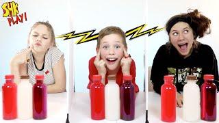 NOAH CHEATED!? Twin Telepathy Milkshake Challenge