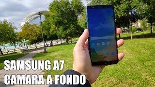 Samsung A7 2018 Camara a fondo