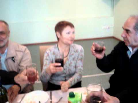Праздничный стол в армянской общине. 8 мая. 1
