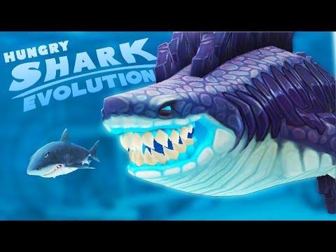АКУЛА ГОДЗИЛЛА СЪЕЛА ВЕСЬ ОКЕАН | Hungry Shark Evolution