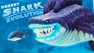 АКУЛА ГОДЗИЛЛА СЪЕЛА ВЕСЬ ОКЕАН   Hungry Shark Evolution