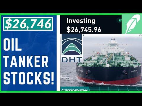 Swing Trading Oil Tanker Stocks! $26,746 Robinhood Portfolio!